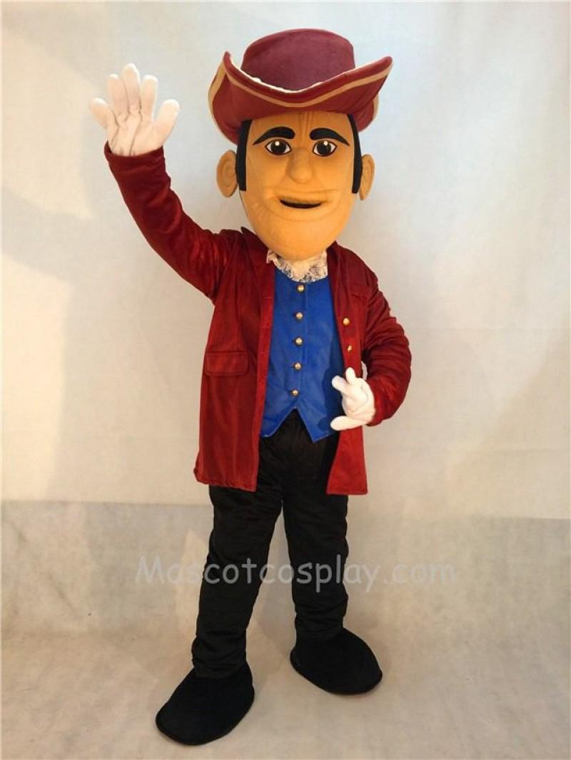 Fierce Patriot Mascot Costume
