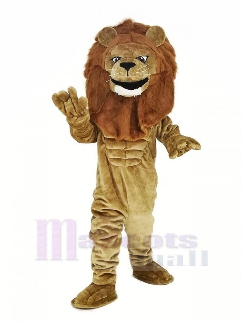 Power Lion Mascot Costume Animal