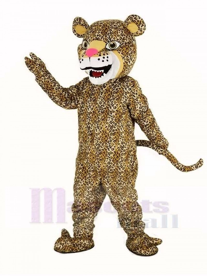 Strong Jaguar Mascot Costume Animal