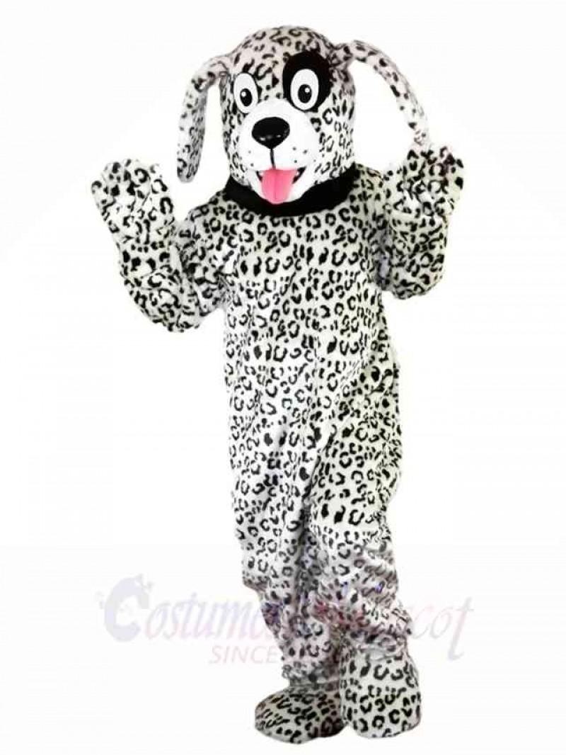 Black and White Dalmatian Dog Mascot Costumes Animal