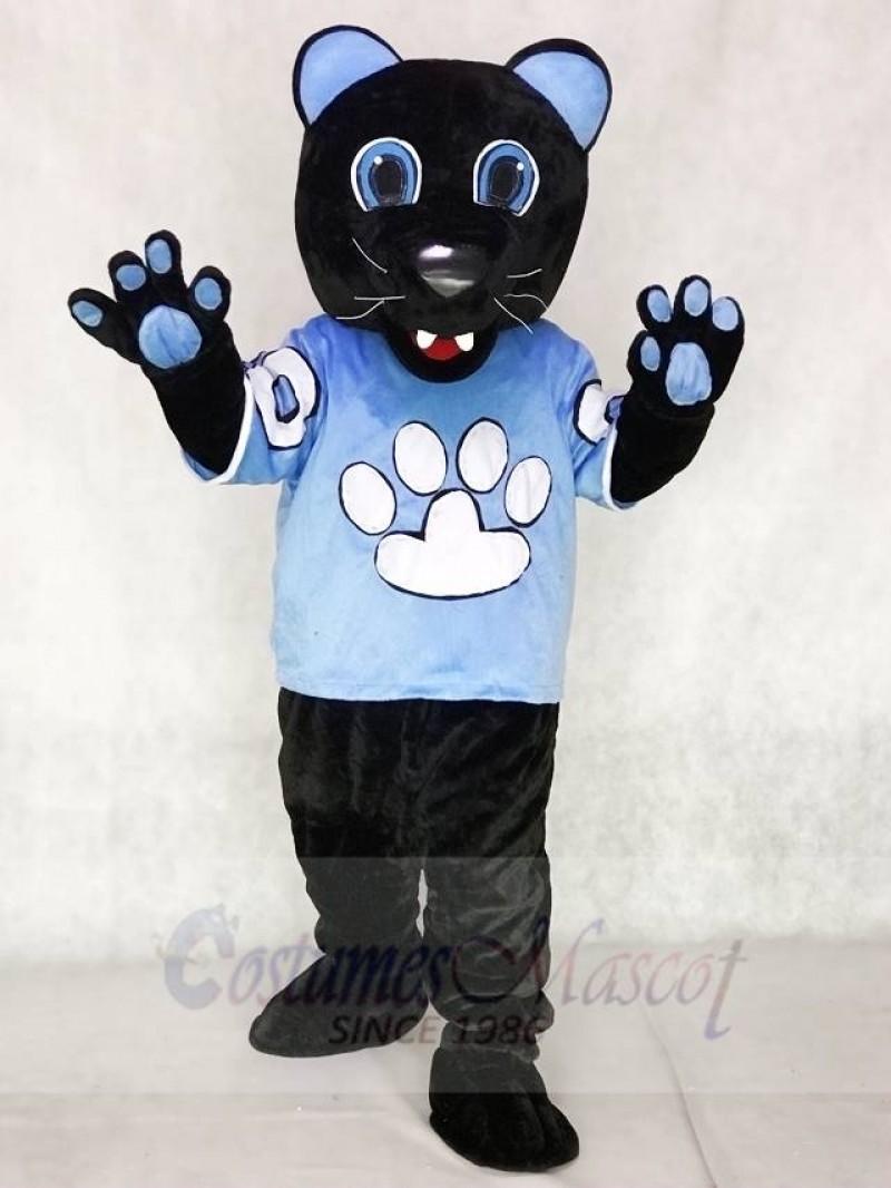 Sir Purr of the Carolina Panthers Mascot Costume Football