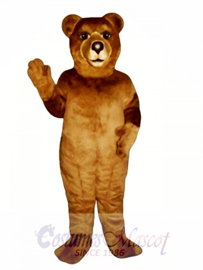 Ranger Bear Mascot Costume