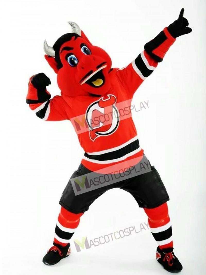 N.J. Devil of the New Jersey Devils Mascot Costume