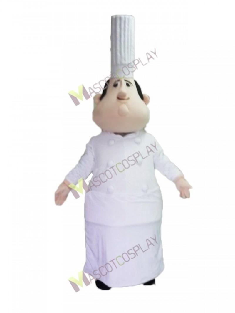 High Quality Adult White Fat Italian Chef Mascot Costume