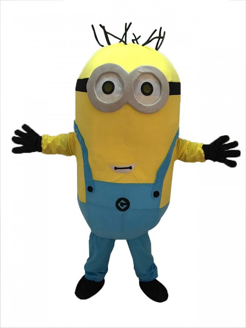 High Quality Despicable Me Minions Minion Mascot Costume Custom Fancy Anime Cosplay Carnival