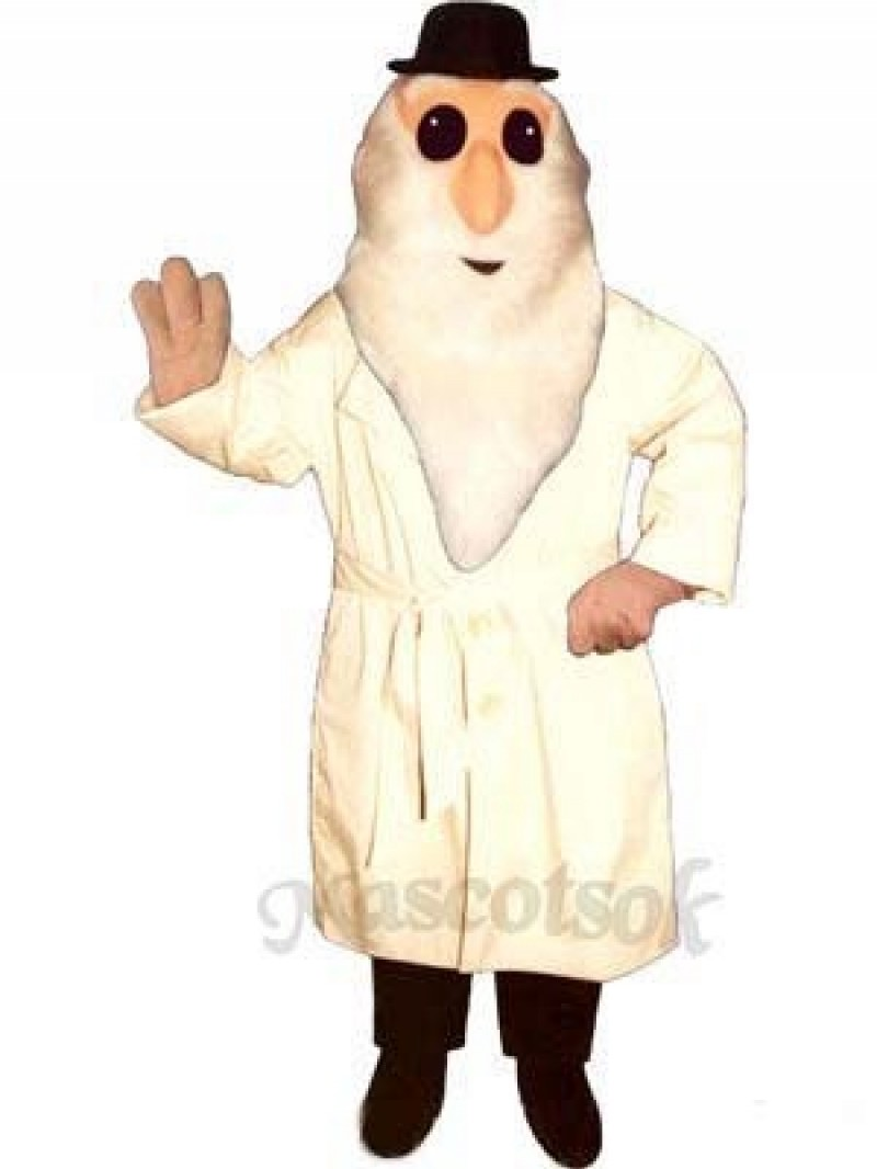 Dirty Old Man Mascot Costume