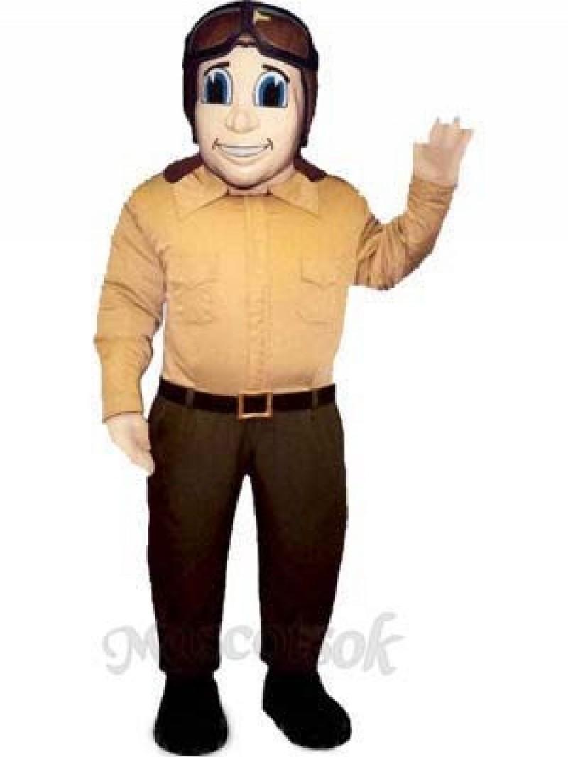 Fly Boy Mascot Costume