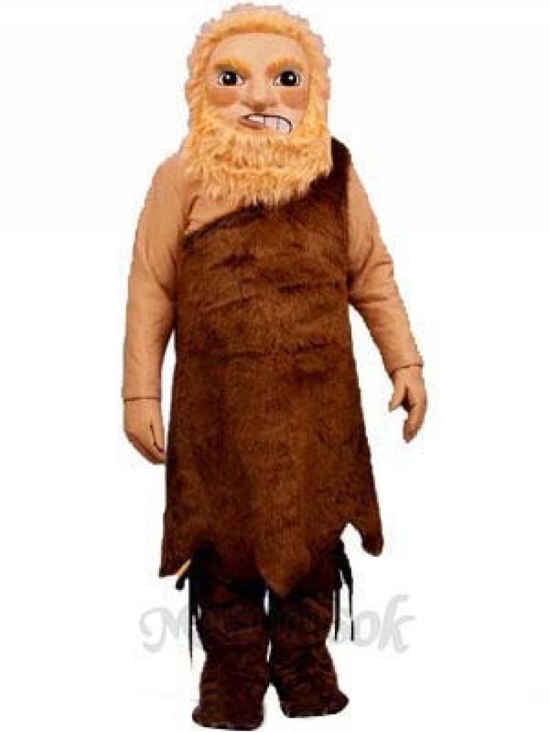 Wild Man Mascot Costume
