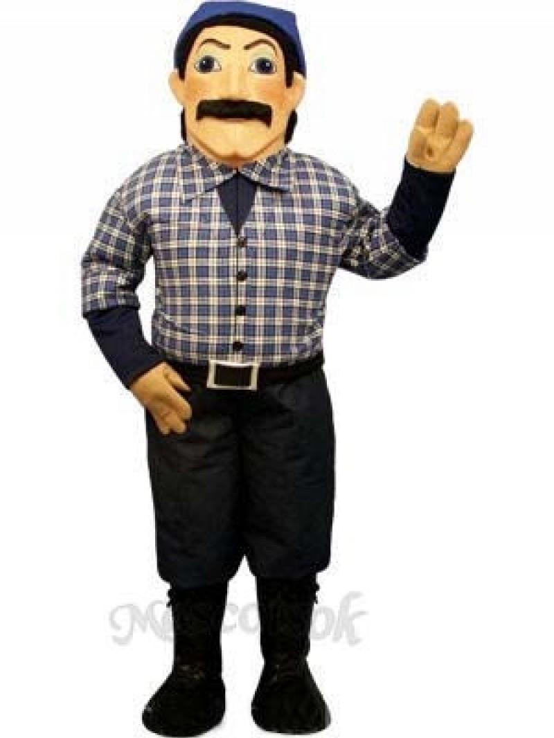Timber Jack Mascot Costume