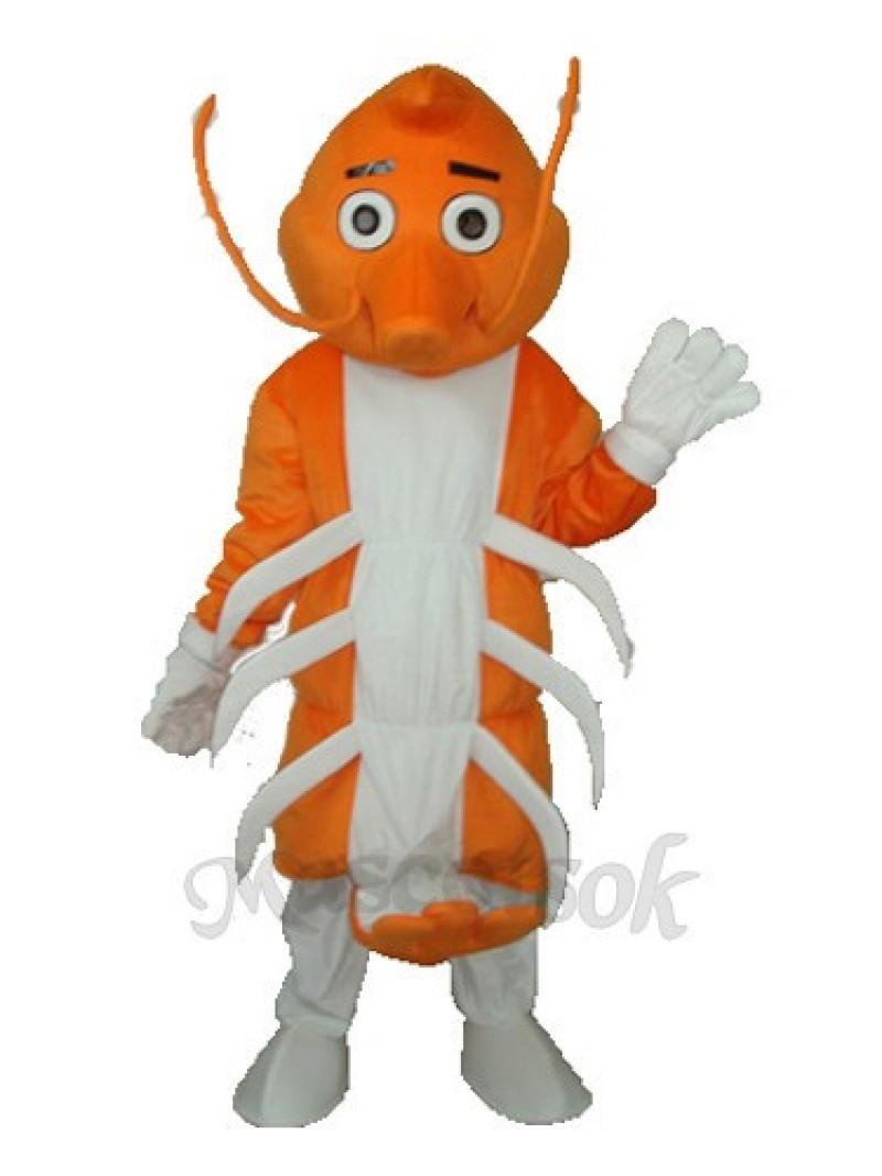 Long Moustache Lobster Mascot Adult Costume