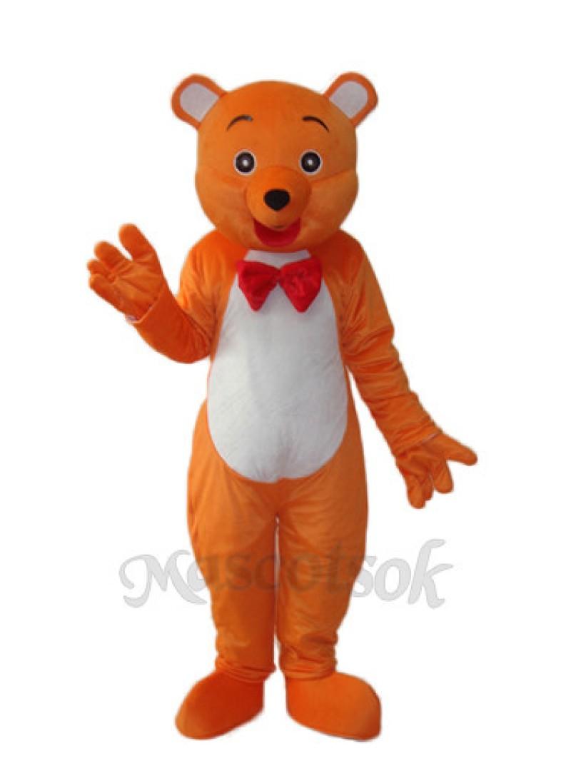 Hello Bear Mascot Adult Costume