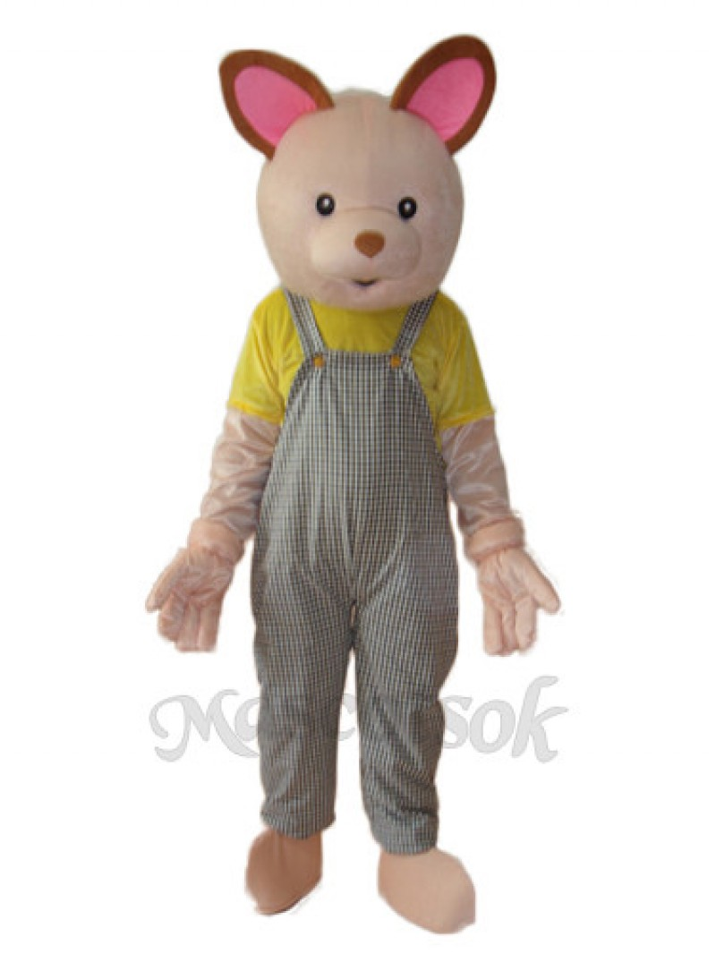 Baby Bear Mascot Adult Costume