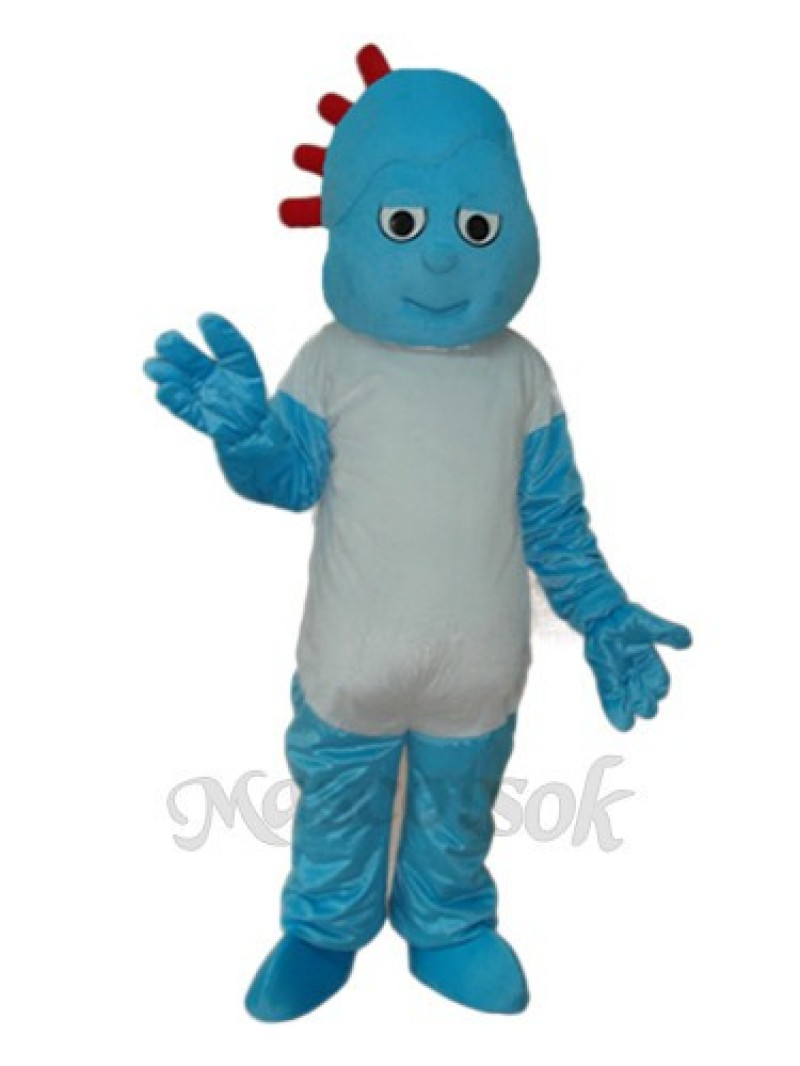Naughty Boy Small Broken Child Mascot Adult Costume