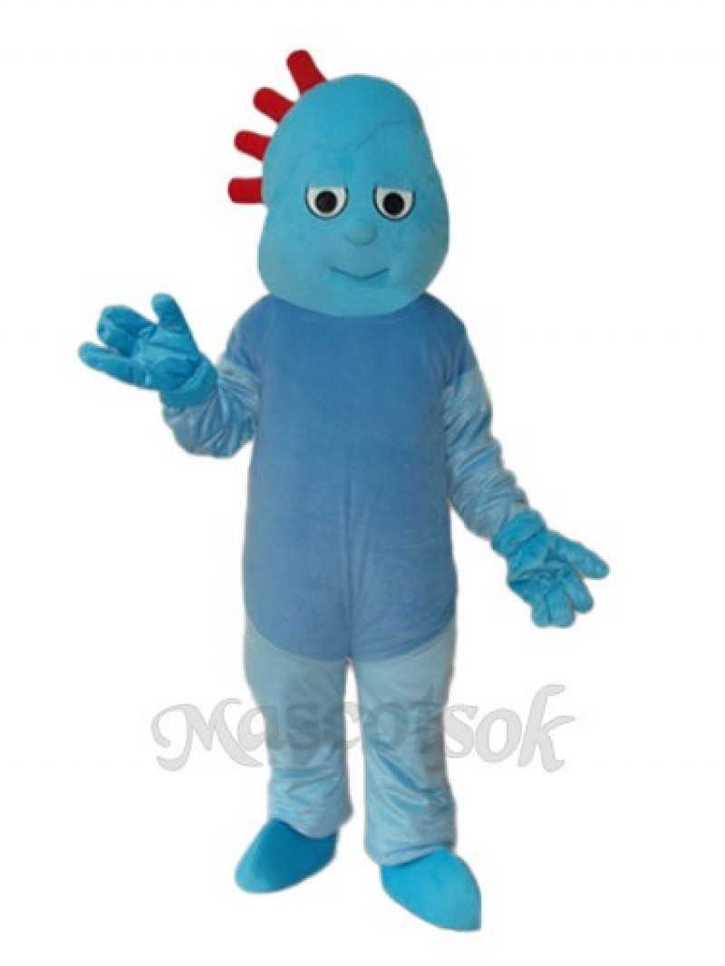 Small Broken Child Mascot Adult Costume