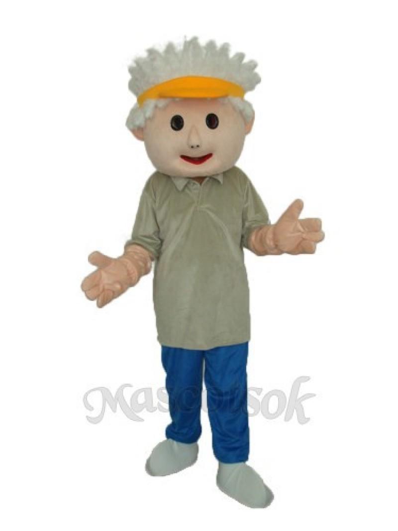 Golf Children Mascot Adult Costume