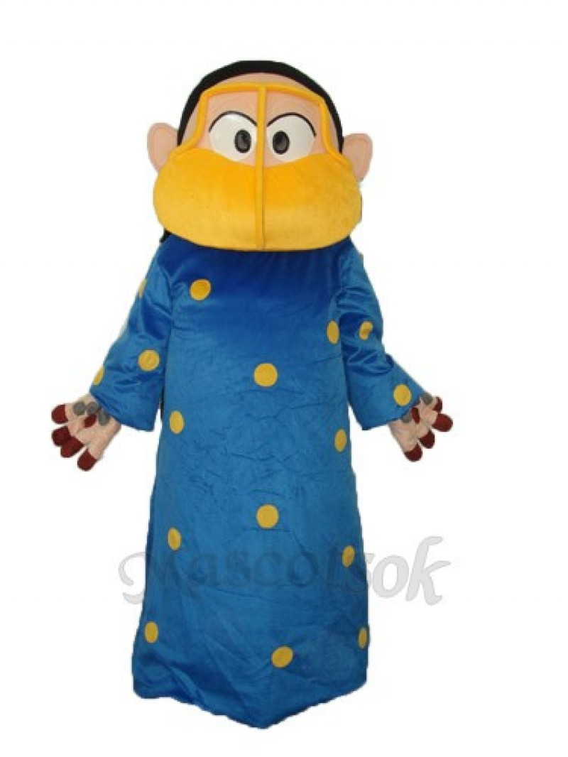 Arab Overweight Woman Mascot Adult Costume