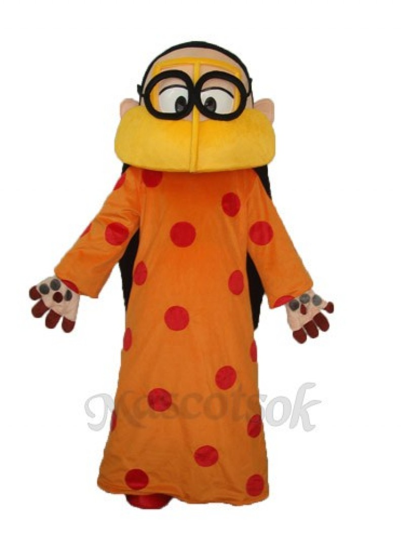 Arab Thin Woman Mascot Adult Costume