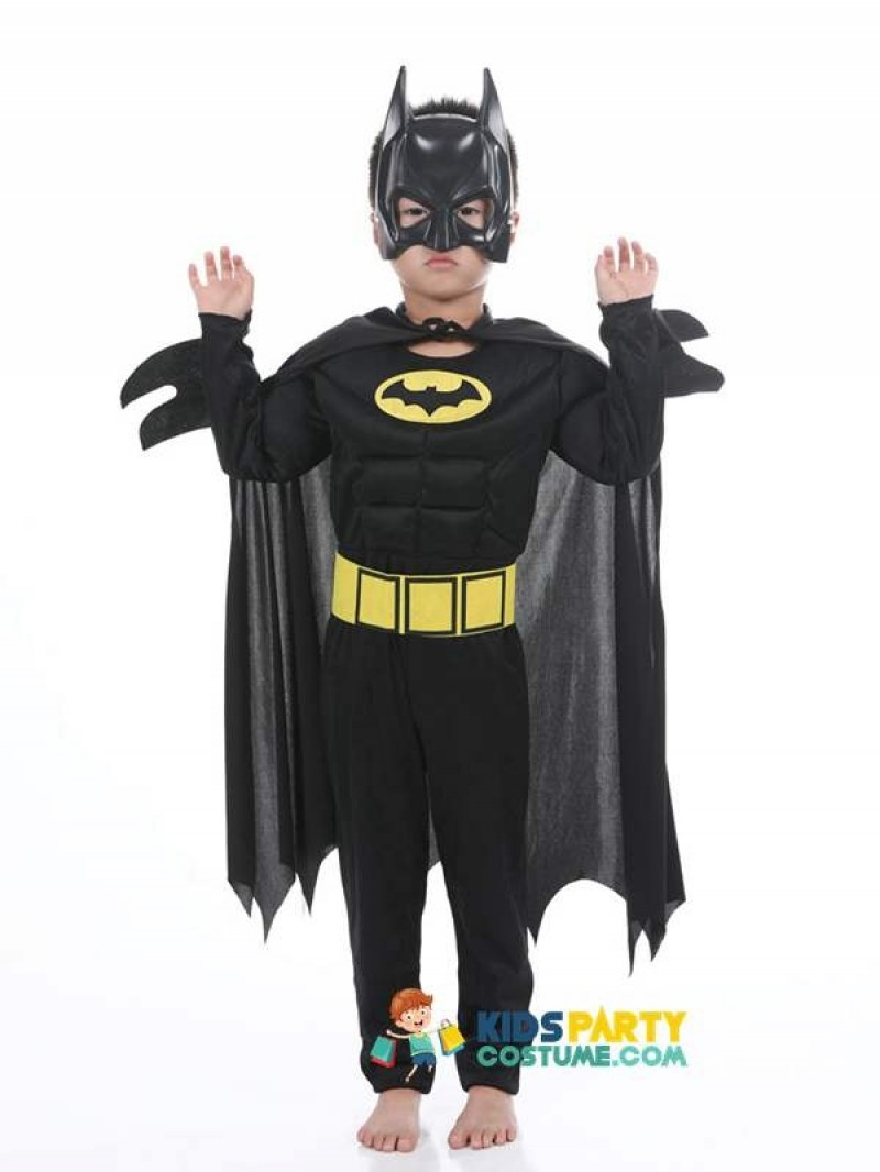 Baby Kids Children Cosplay Costumes Witch Batman Hulk Superhero Carnival Halloween Cosplay for  Boy