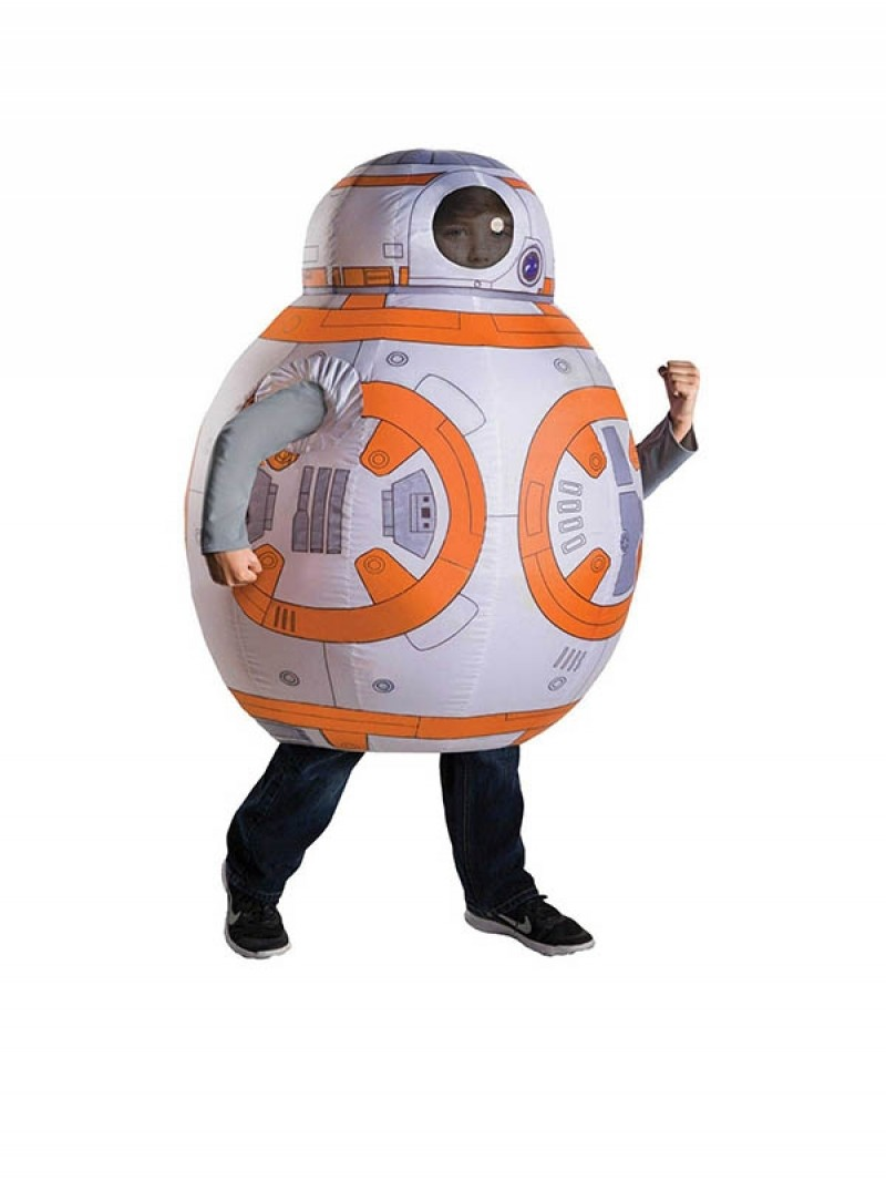 Kids Inflatable Star Wars BB Episode VII The Force Awakens Costume Halloween Children Cosplay Christmas