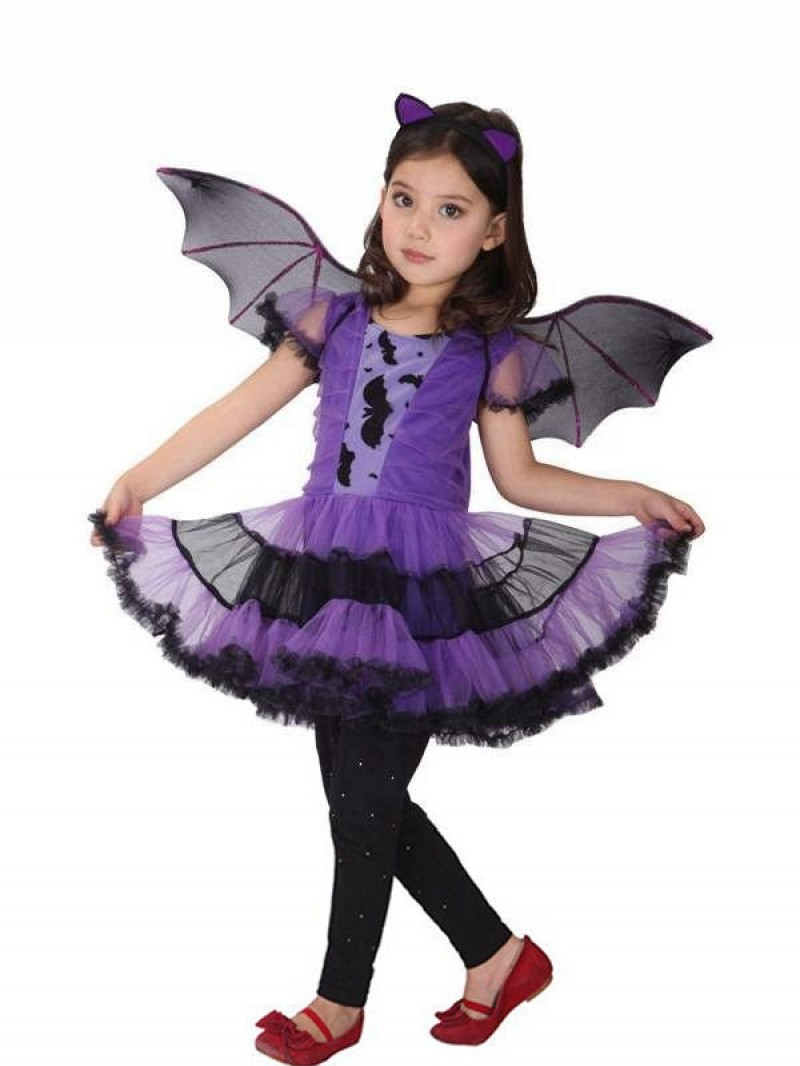 Baby Kids Children Cosplay Costumes Witch Batman Hulk Superhero Carnival Halloween Cosplay for Girl