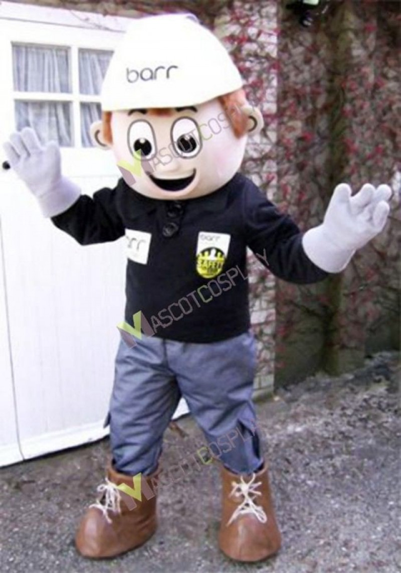 High Quality Adult Builder Constructor Mascot Costume