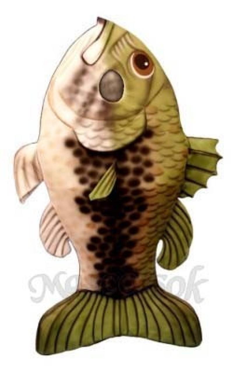 Large Mouth Bass Fish Mascot Costume