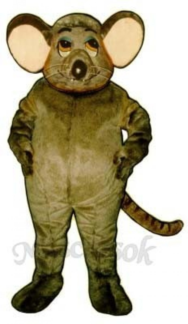 Fat Rat Mascot Costume