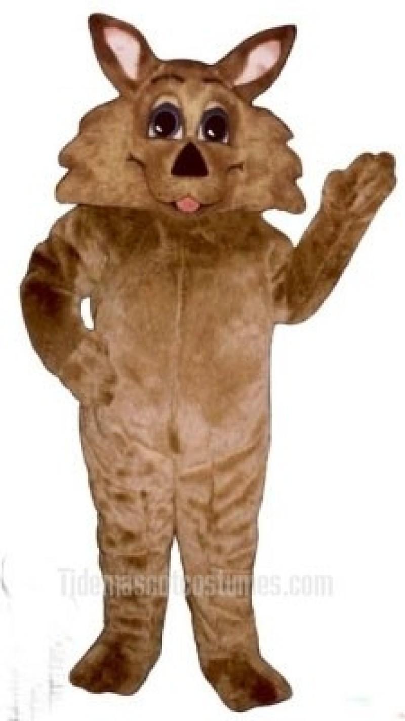 Cute Wild Coyote Wolf Mascot Costume
