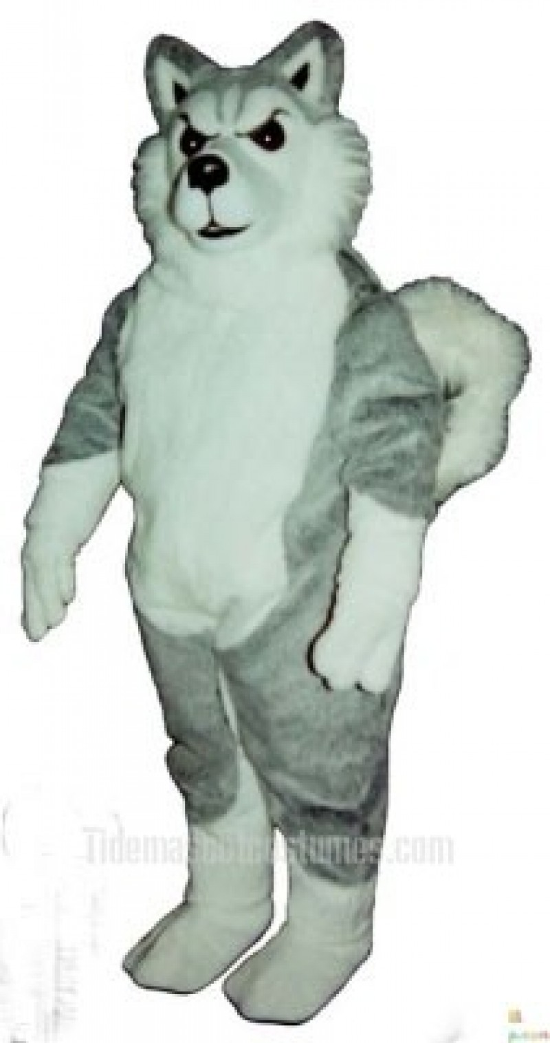 Cute Willy Wolf Mascot Costume