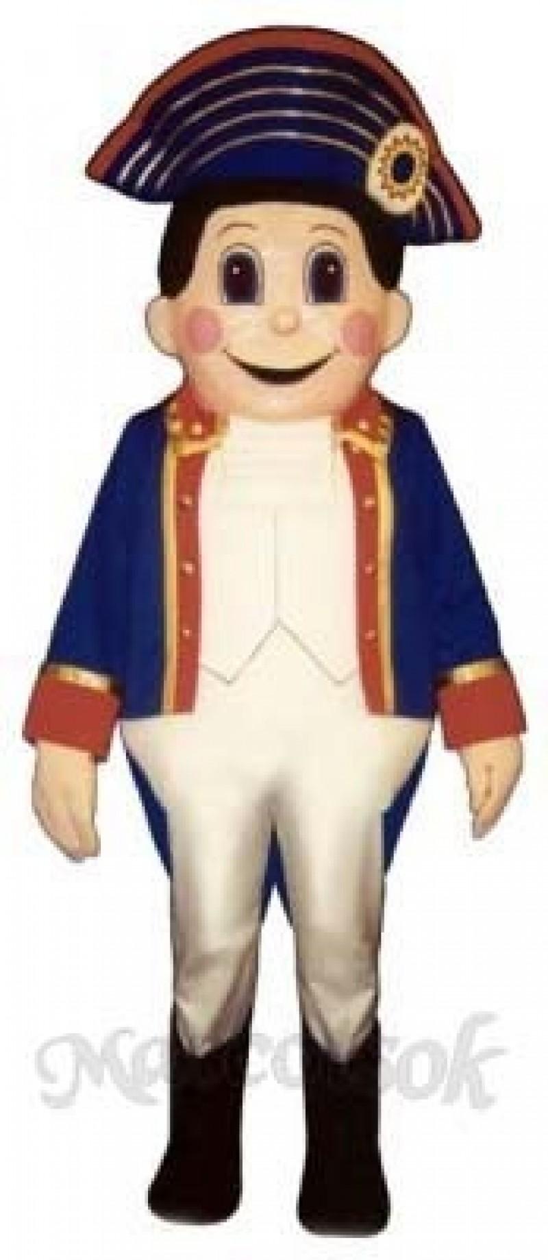 Colonial Boy Mascot Costume
