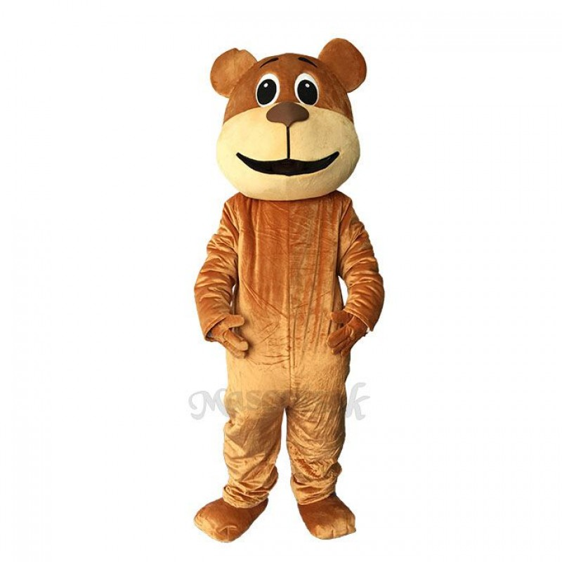 Lovely Benny Bear Mascot Costume