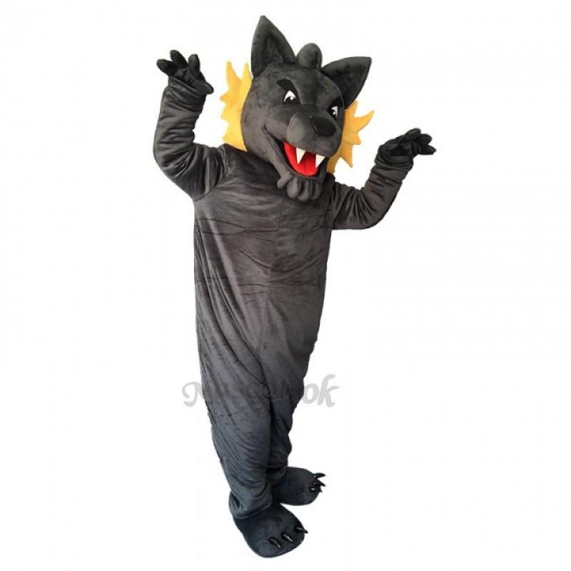 Gray Wolf Custom Hockey Mascot Costume
