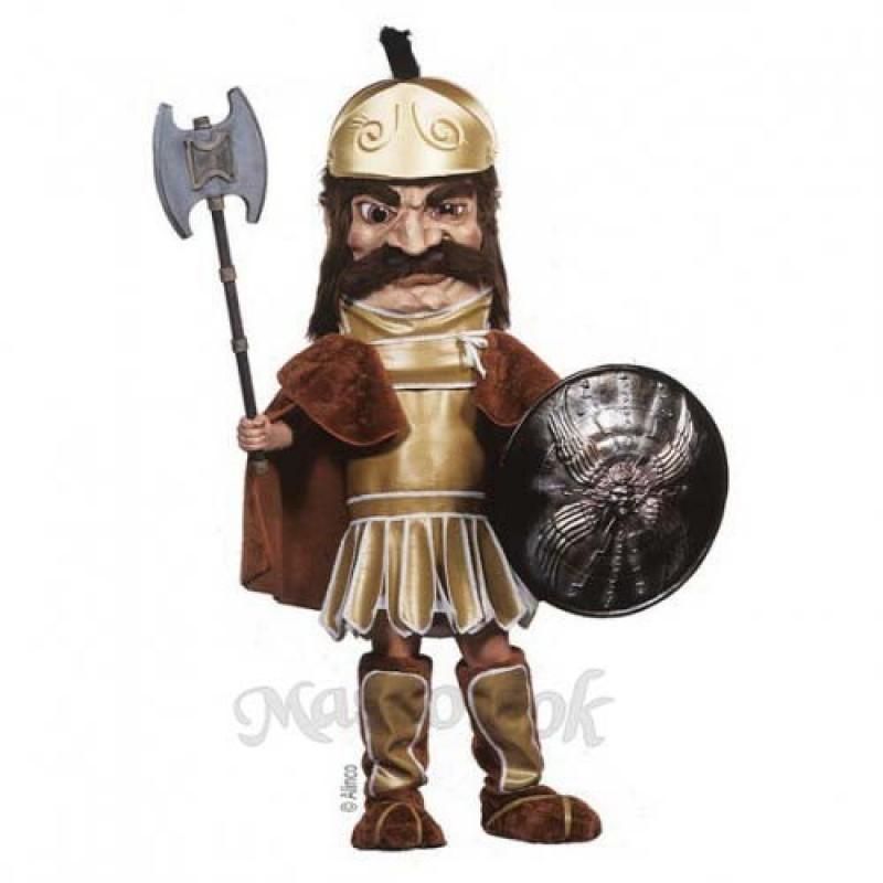Trojan Warrior Mascot Costume (Shield & Axe not Included)
