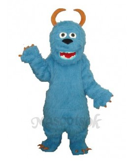 Blue Sulley Monsters Inc Mascot Adult Costume