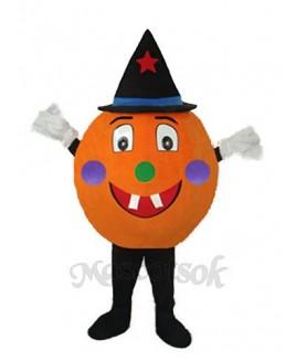 Pumpkin Mascot Adult Costume