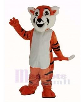 Sports Toby Tiger Mascot Costume Animal