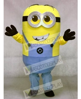 Despicable Me Minion with Smiling Face Minions Mascot Costume