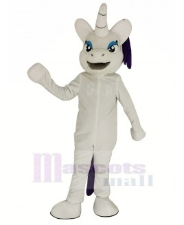 My Little Pony Horse with Purple Hair Mascot Costume