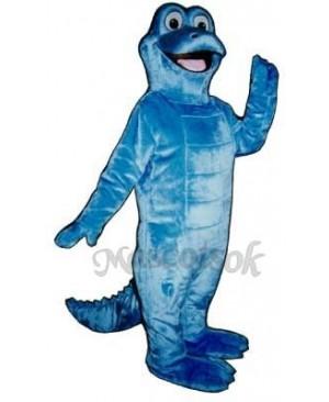 Lyle Lizard Mascot Costume