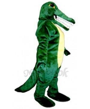 Alligator Sam Mascot Costume