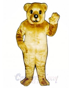 Baby Brown Bear Mascot Costume
