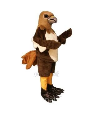 Red Tail Hawk Mascot Costume