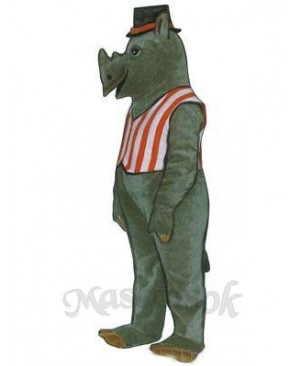 R.I. Nocerous with Vest & Hat Mascot Costume