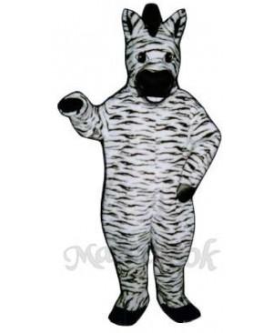 Zelda Zebra Mascot Costume