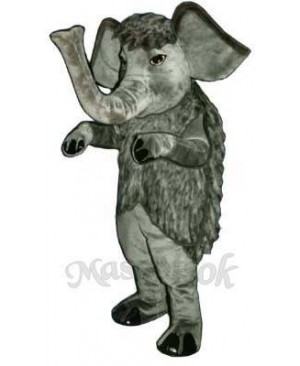 Wooly Mammoth Elephant Mascot Costume