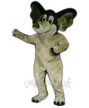 Edgar Elephant Mascot Costume
