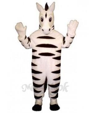 Baby Zebra Mascot Costume