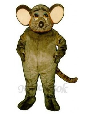 Fat Rat Mascot Costume