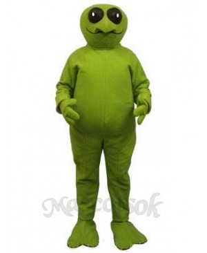Green Alien Mascot Costume
