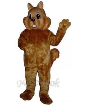 Sunny Squirrel Mascot Costume